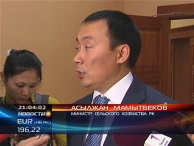 Министру сельского хозяйства Казахстана Мамытбекову посоветовали уйти в отставку