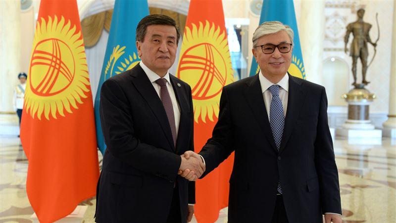 Президент Кыргызстана поздравил Касым-Жомарта Токаева с годовщиной президентства