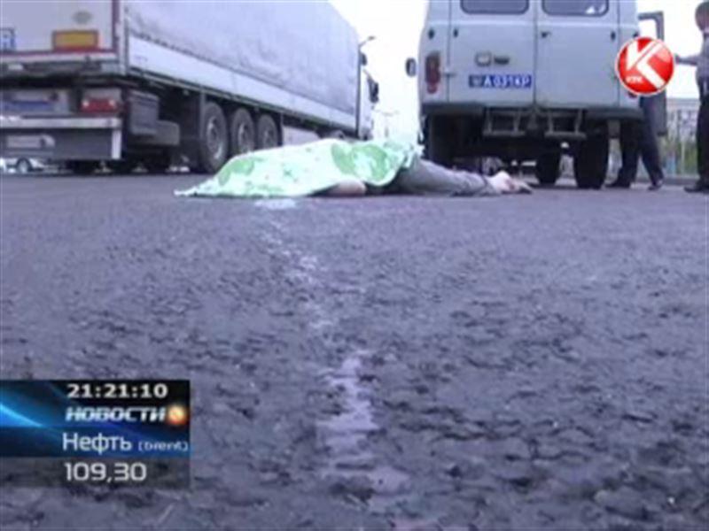 В Алматы 56-летнего мужчину сбила «Тойота Камри»