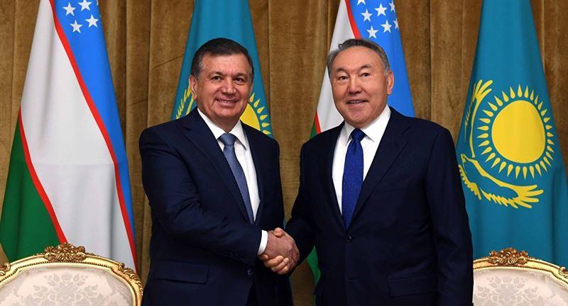 Первый Президент Казахстана переговорил по телефону с Мирзиёевым