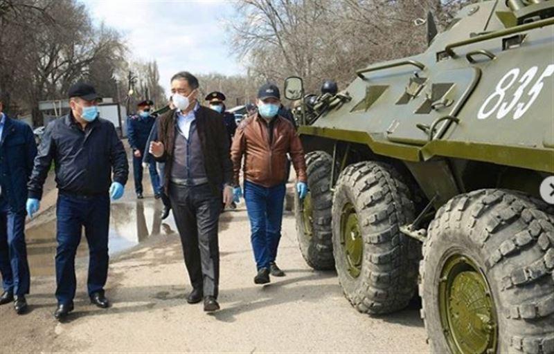 Аким Алматы обратился к гражданам из-за введенного в городе карантина