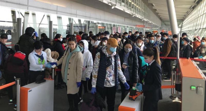 Еуропадан 207 қазақстандық арнайы рейспен жеткізілді