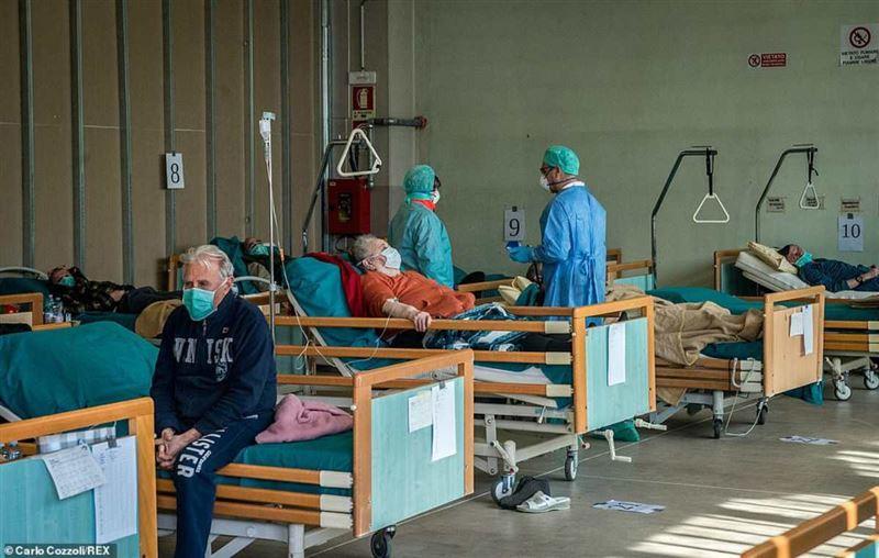 Италияда коронавирустан көз жұмғандардың саны 7 мыңнан асты