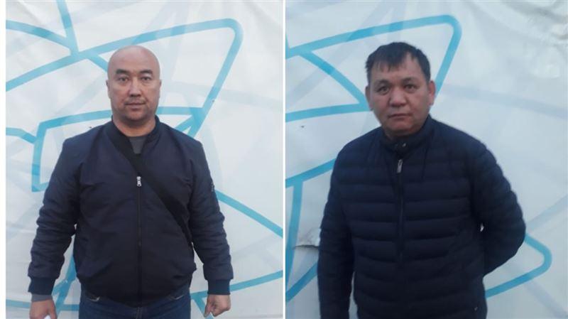 В Алматы задержали двоих мужчин, проникших окольными путями в город