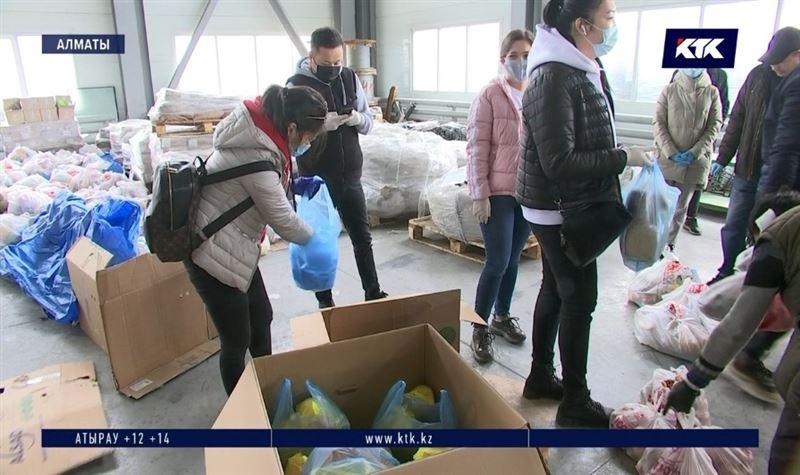 Волонтеры объединились, чтобы помочь людям из зоны риска