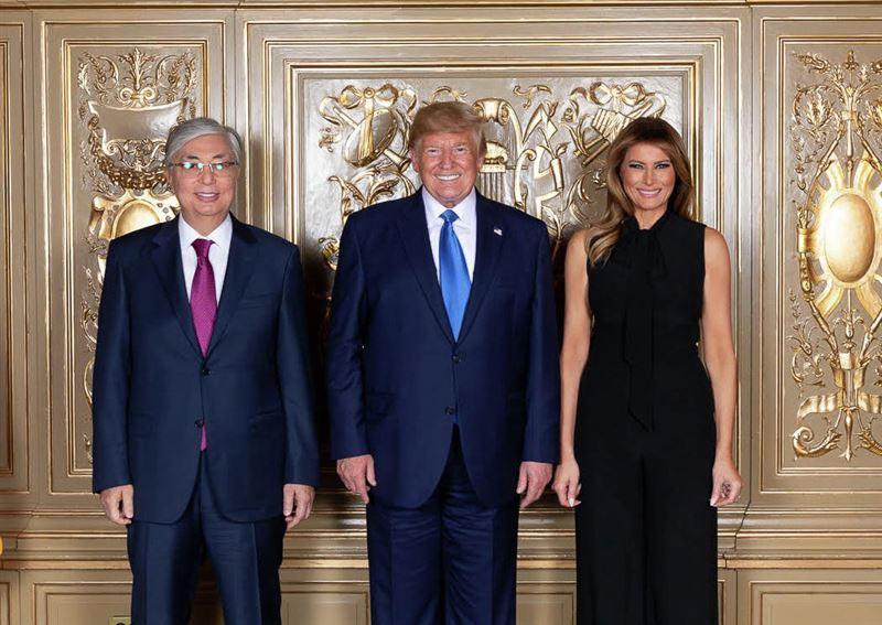 Дональд Трамп поздравил Касым-Жомарта Токаева с Наурызом