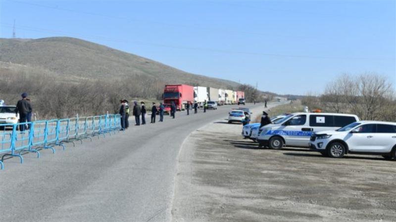 35 блокпостов установлено в Туркестанской области
