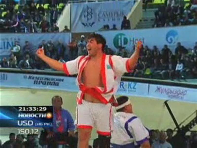 Победителем турнира «Казахстан Барысы» стал супертяжеловес из Тараза