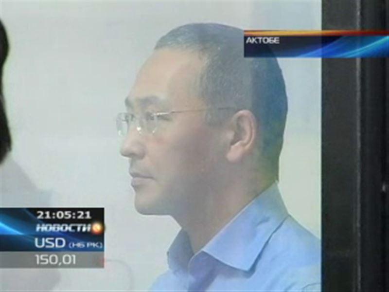 Экс-акима Жанаозена Орака Сарбопеева осудили на 10 лет