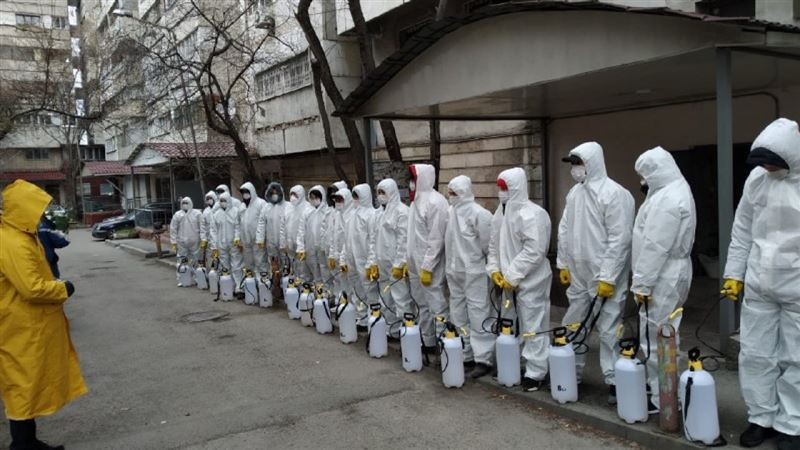 Применяемые препараты для дезинфекции в Алматы безвредны для людей и животных