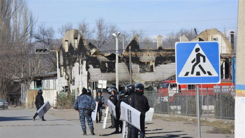 Участники беспорядков в Кордае были задержаны в Алматы и Шымкенте