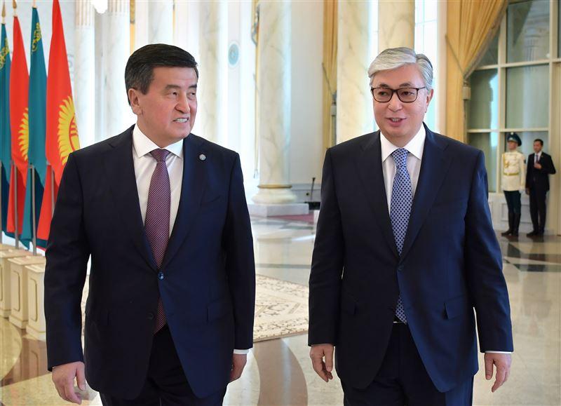 Глава Кыргызстана выразил благодарность Касым-Жомарту Токаеву