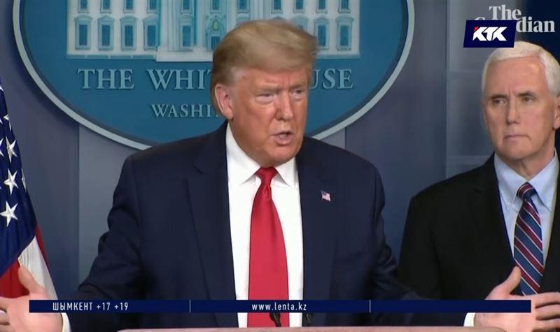 Трамп объясняет лидерство США по числу инфицированных массовым тестированием