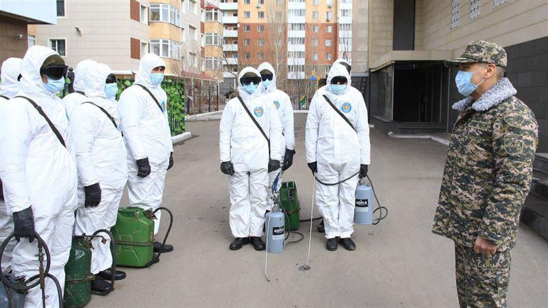 Как проводится дезинфекция в столице, проверил министр обороны