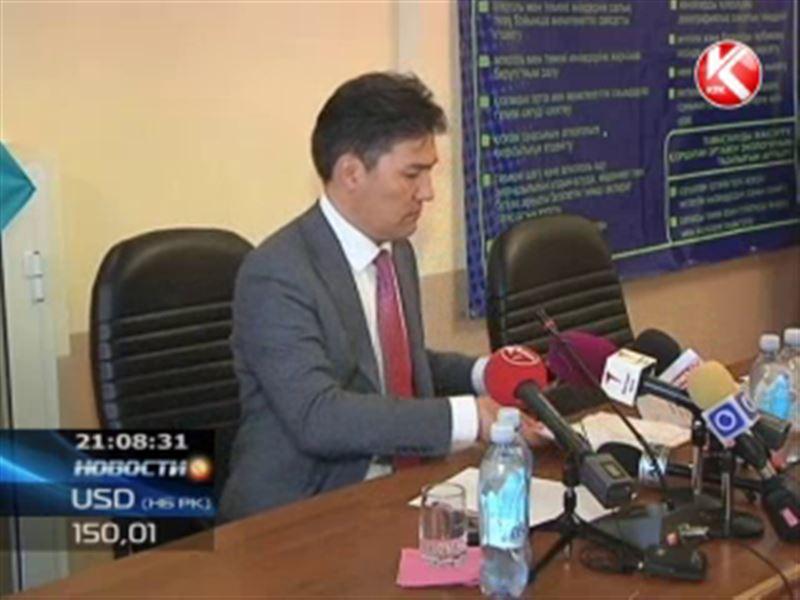 Начальнику облздрава Южного Казахстана после скандала влепили выговор