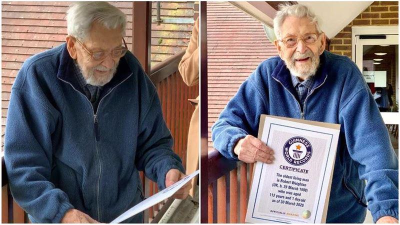 112-летнего британца признали самым старым мужчиной в мире