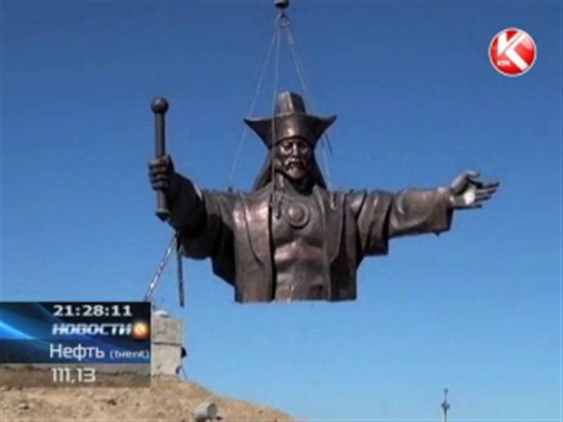 В Шымкенте решили установить самый большой в стране памятник