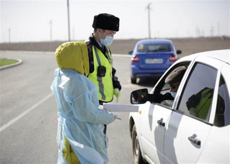 Более 1500 казахстанцев привлечено к ответственности за нарушение режима ЧП