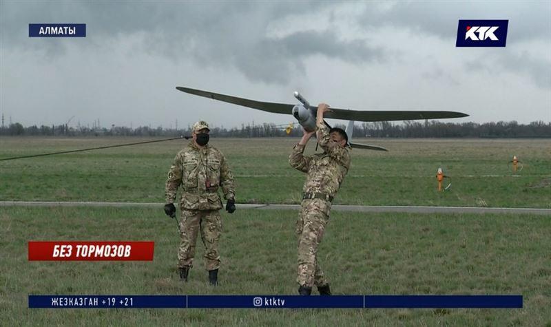 Беспилотники будут патрулировать границы Алматы и Нур-Султана