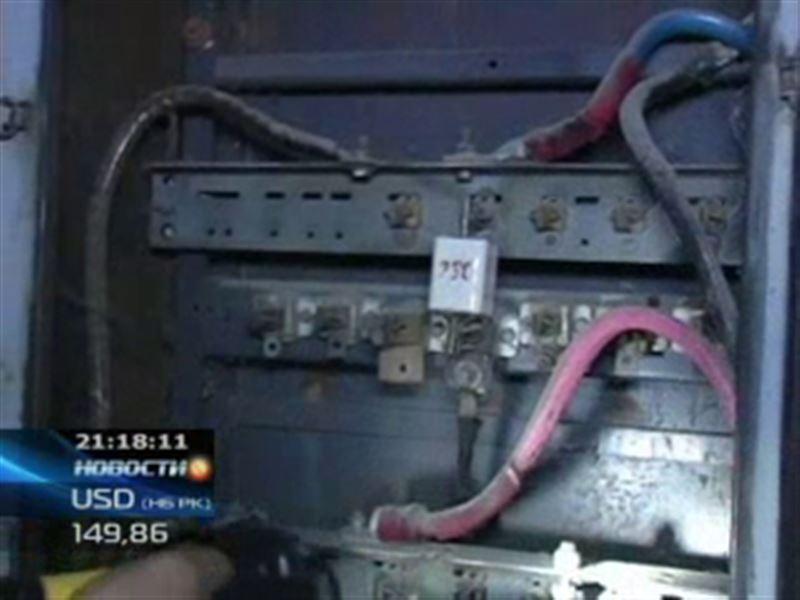 В Семее у жителей опять сгорели все электроприборы
