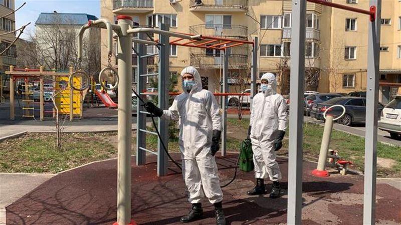 Новые данные об очагах коронавируса в Алматы