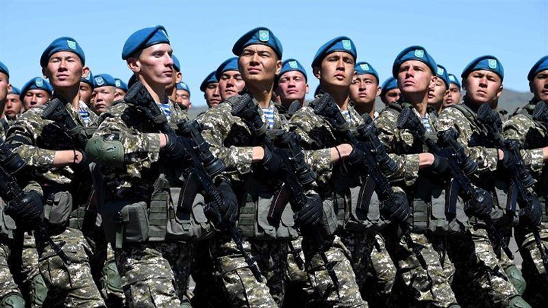 Как долго будут длиться специальные воинские сборы в Алматы