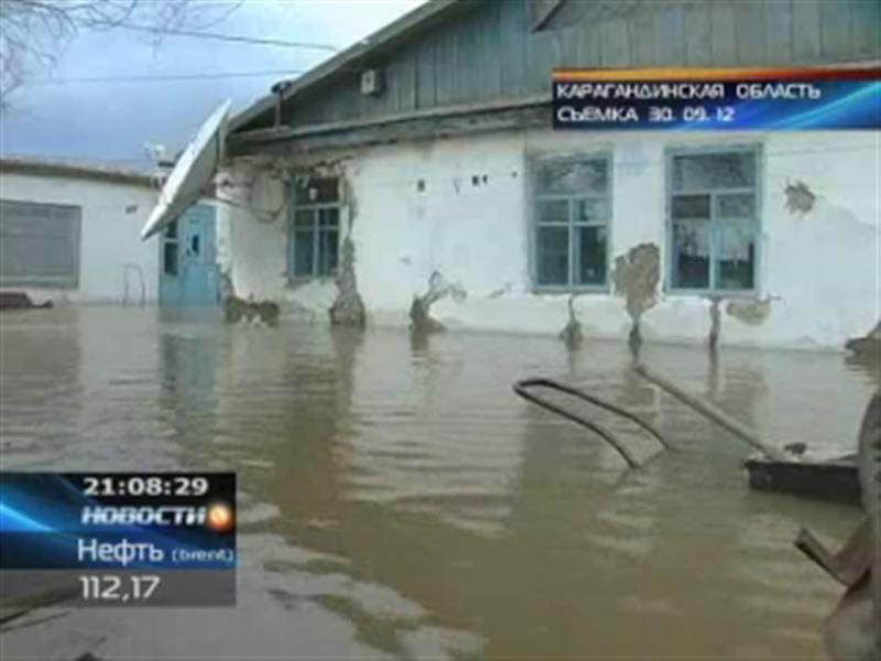 В пригороде Жезказгана завершились работы по откачке воды