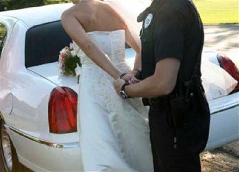 Из-за коронавируса жениха и невесту арестовали во время свадьбы
