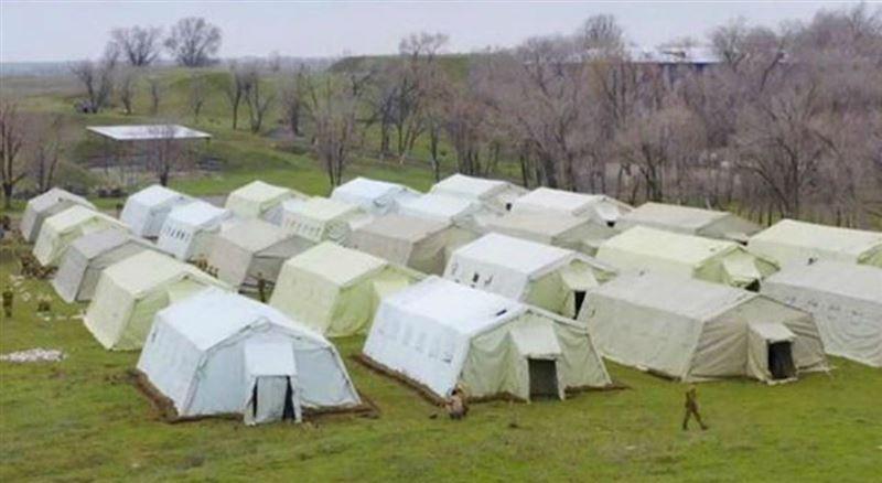 Алматы облысында әскери госпиталь орналастырылды