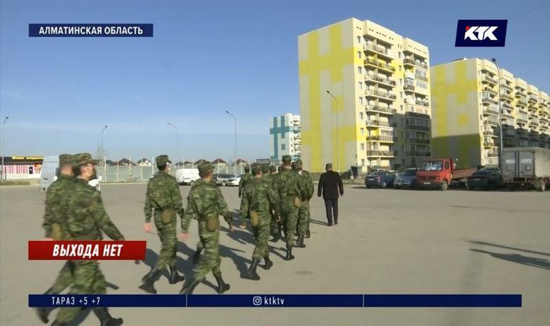 В изолированный «Асыл Арман» ввели отряды военных