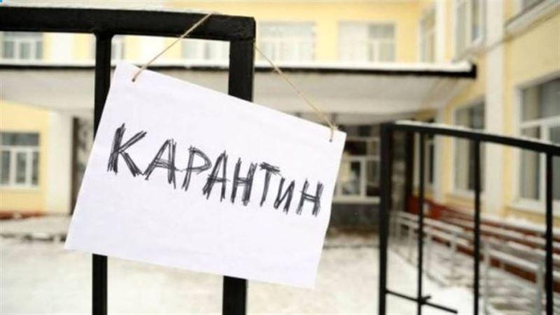 На карантин закрыли подъезд многоэтажки в Таразе