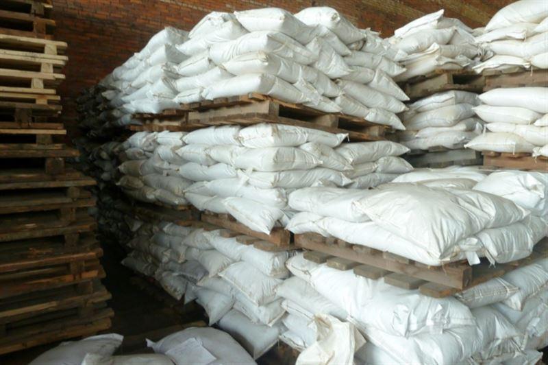Под видом цемента из Казахстана в Кыргызстан пытались вывезти 300 тонн муки