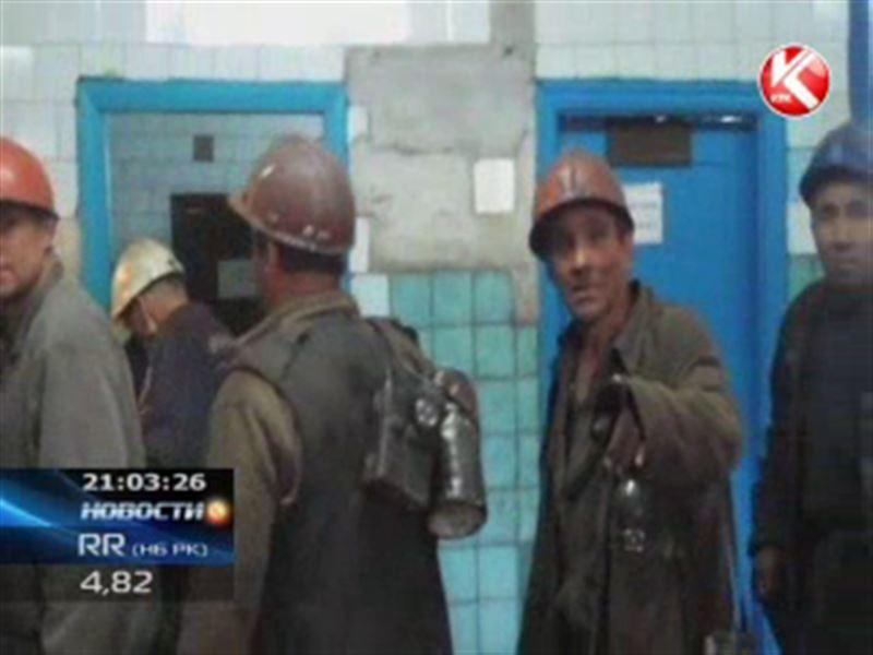 В Караганде снова бастуют шахтёры