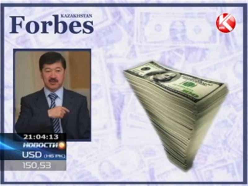 «Forbes Казахстан» опубликовал список самых влиятельных бизнесменов республики