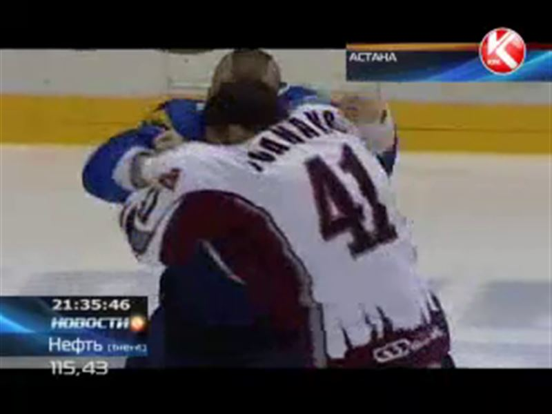 Хоккеисты «Барыса» одержали вторую крупную победу в сезоне