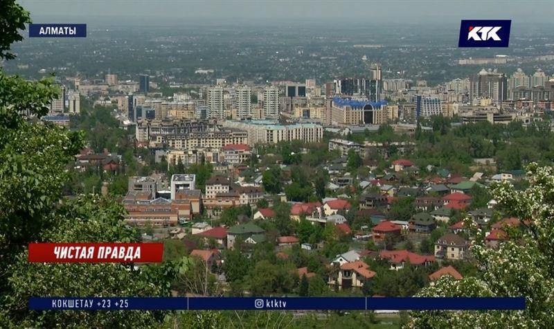 Карантин в Алматы «потрясающе сказался на экологии»