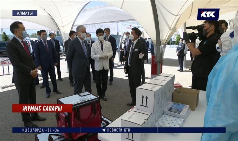 Мемлекет басшысы Алматыдағы эпидемиологиялық жағдаймен танысты