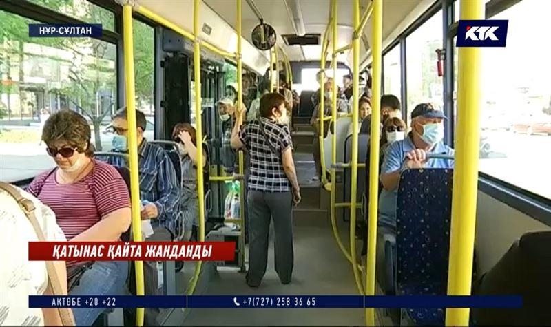 Елорда жолаушылары автобус ішінде әлеуметтік ара қашықтықты қалай сақтайды?