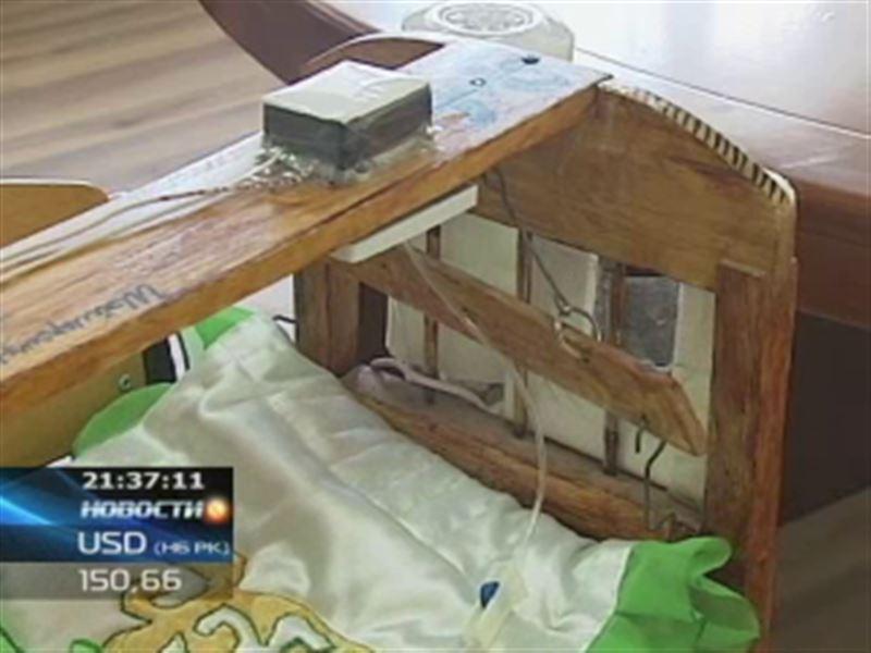 Студент из Астаны изобрёл чудо-колыбель