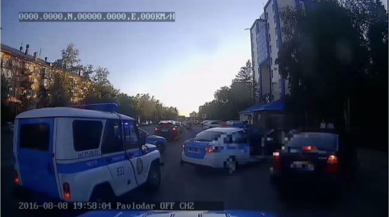 В Павлодаре 6 автопатрулей участвовали в погоне за нетрезвым автолюбителем