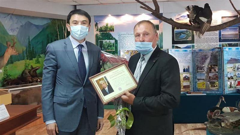 Президент выразил благодарность борцу с браконьерами из Алматинской области