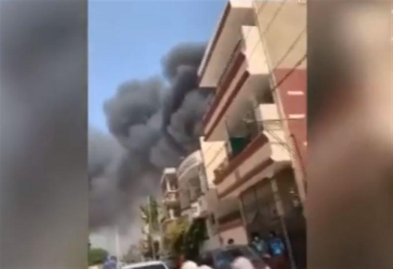 Самолет потерпел крушение в Пакистане