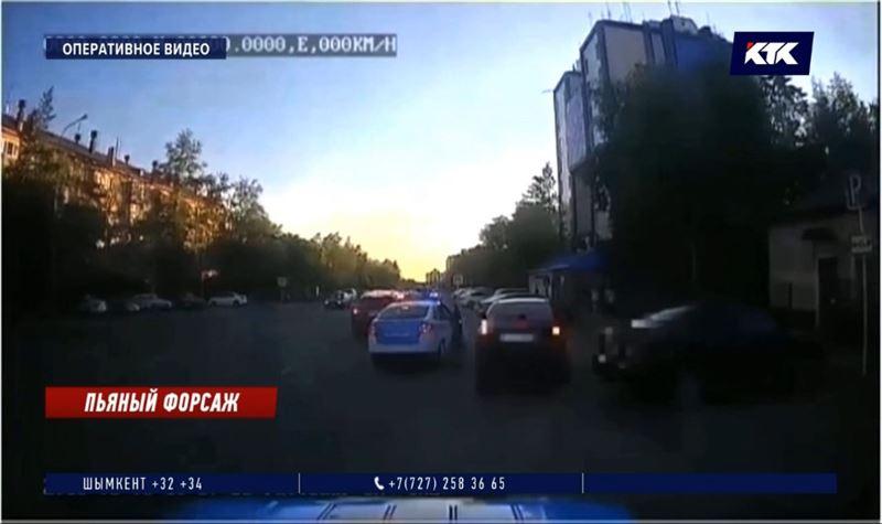 Пьяного лихача в Павлодаре лишили прав на 7 лет