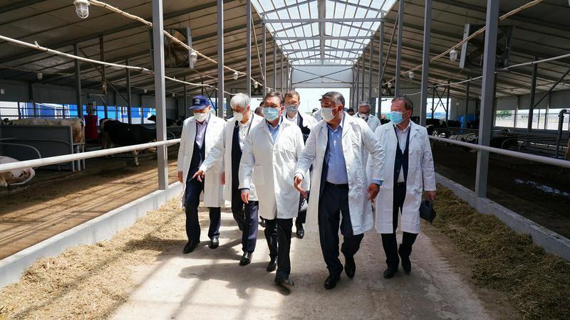 Аскар Мамин проверил состояние гидротехнических сооружений Алматинской области