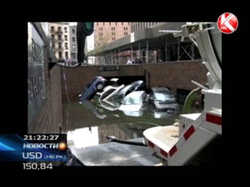 Из-за урагана Сэнди в американских городах погибло уже около 100 человек