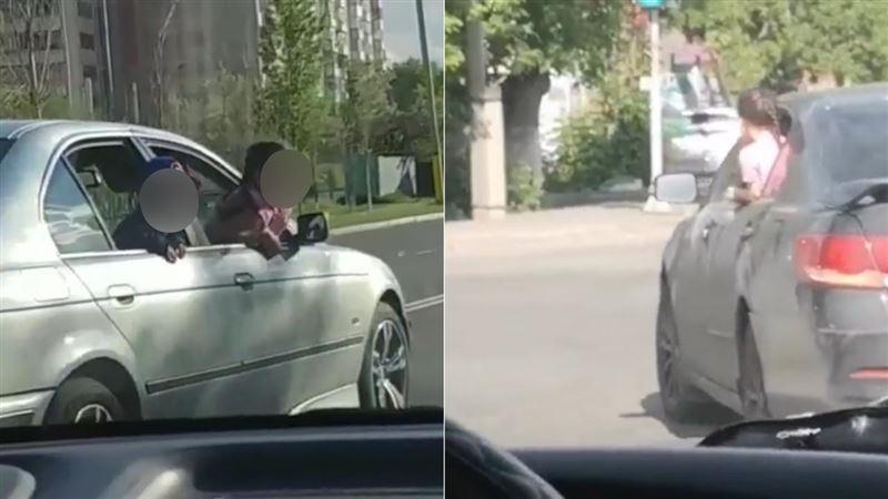 Прокатили детей с ветерком: в Павлодаре и Аксу  полиция оштрафовала горе-водителей