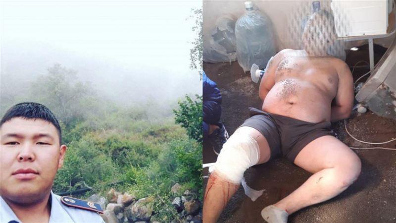 Блокпостағы көлік апаты: Жүргізуші бұрын полицияда жұмыс істеген