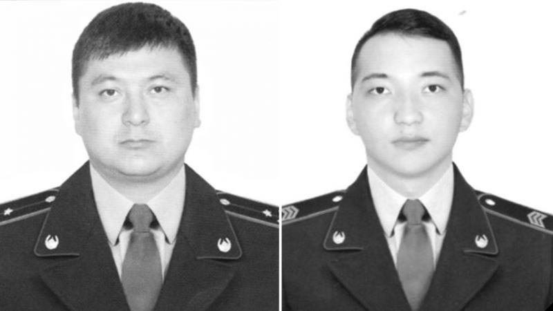 Алматыда көз жұмған полицейлер «Айбын» орденімен марапатталды