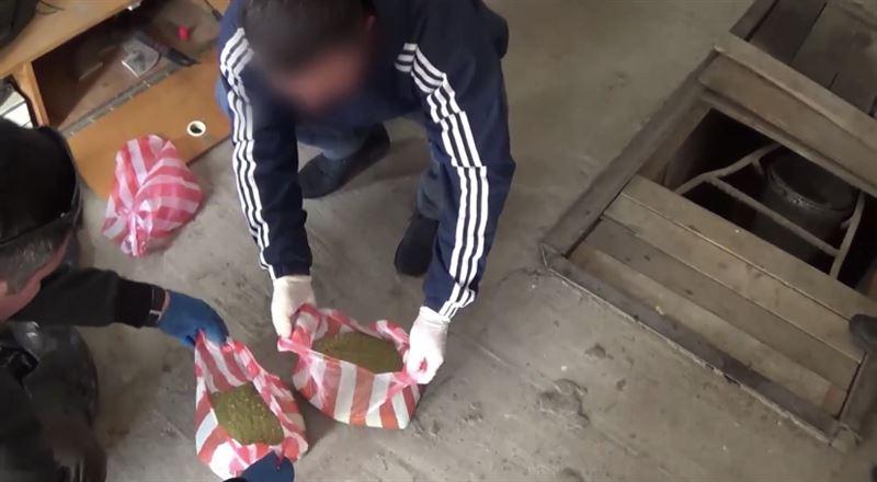 Более 30 кг наркотиков нашли в гараже у жителя Костаная