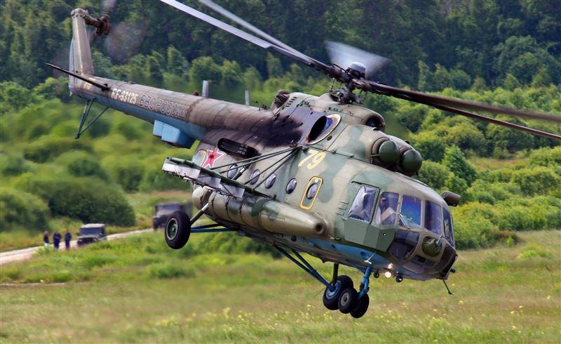 Четверо погибли в результате крушения вертолета Ми-8